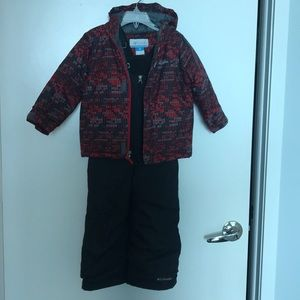 Snow bibs and jacket
